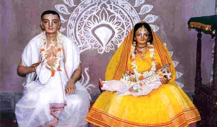 Naming ceremony of Lord Caitanya