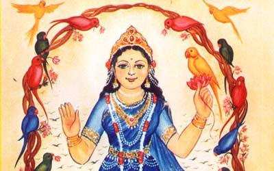 Appearance of Vrinda devi in Kamyavan