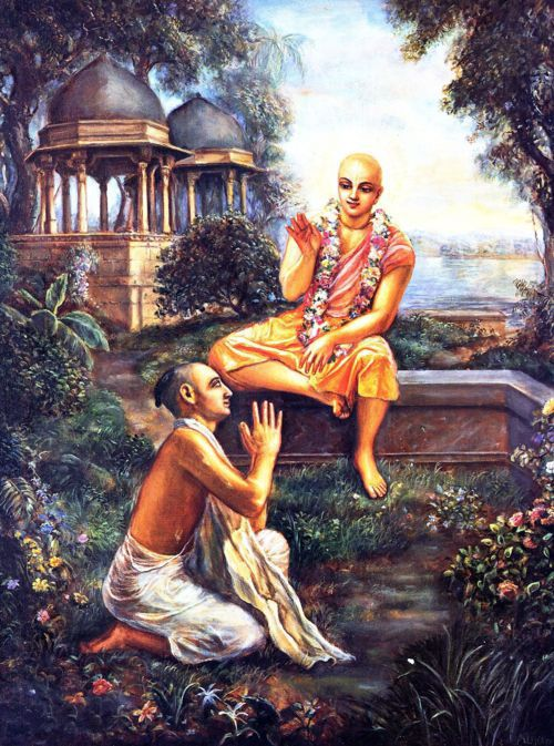 Lord Chaitanya's instruction to Srila Rupa Goswami