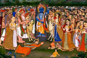Krishna plans to remove Indra's pride by HH Radhanath Swami