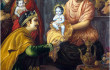 Naming ceremony of krishna