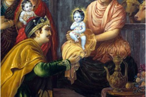Radhanath Swami on Name giving ceremony of Krishna