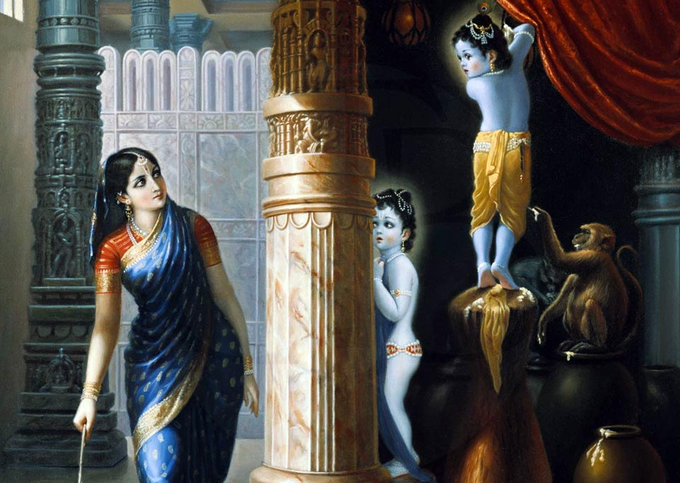 Butter thief krishna