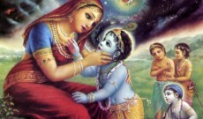 Krishna-eating-dirt