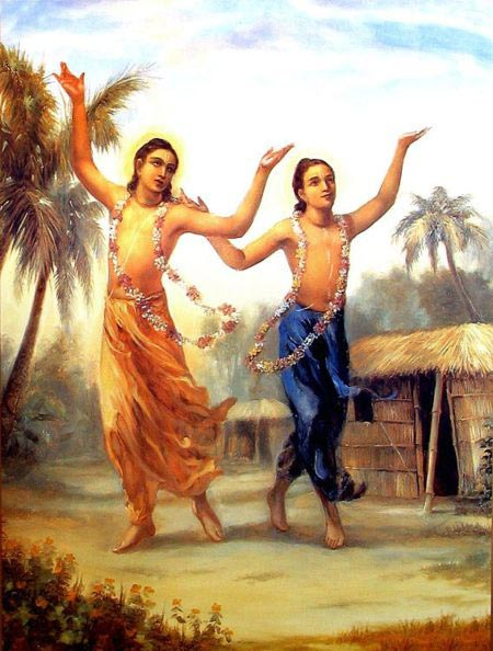 Lord chaitanya and Lord Nityananda