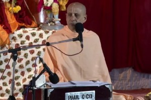 Radhanath Swami on the Significance of Damodar Lila, 2014 Yatra, Hampi, Day 2 , Evening