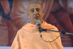 "Radhanath Swami speaking on ""Srila Prabhupada's Vision About Sri Mayapur Dham"" 2012 yatra, Mayapur, Day 1"