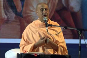 "Radhanath Swami speaking on ""Invaluable Lessons from Sri Govardhana Lila""2012 yatra, Mayapur, Day 3"