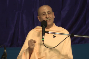 "Radhanath Swami speaking on ""Gratitude Makes Heart fertile For The Seed Of Prema"" 2015 yatra, Vrindavan, Day 1"