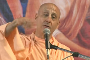"Radhanath Swami speaking on ""The Beginning of The Sankirtan Movement"" 2012 yatra, Mayapur, Day 8"